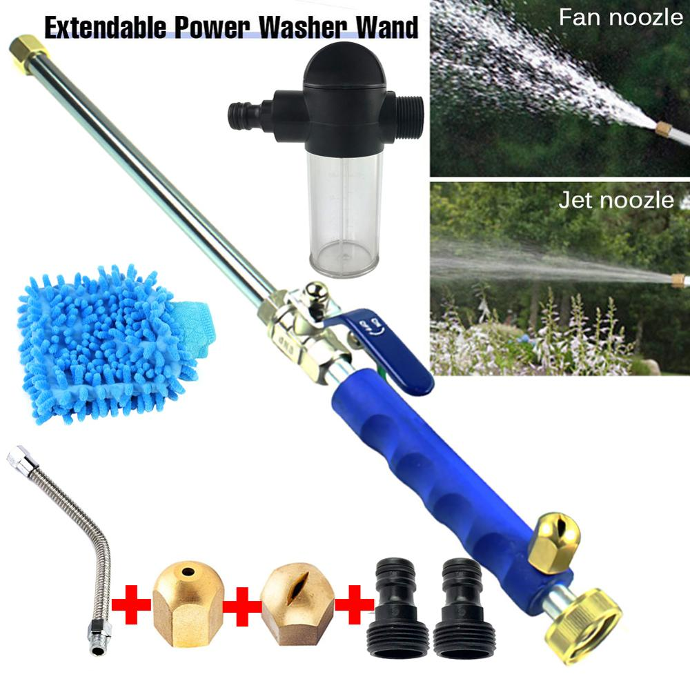 High Pressure Power Water Gun Jet Washer Car Cleaning Gun Hose Wand Nozzle Sprayer Watering Spray Sprinkler Cleaning Tool