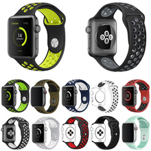 Smart Soft Rubber Sport Watch Strap Band Quick Release Fashion Silicone For Apple 5 4 3 2 1 38mm 40mm 42mm 44mm