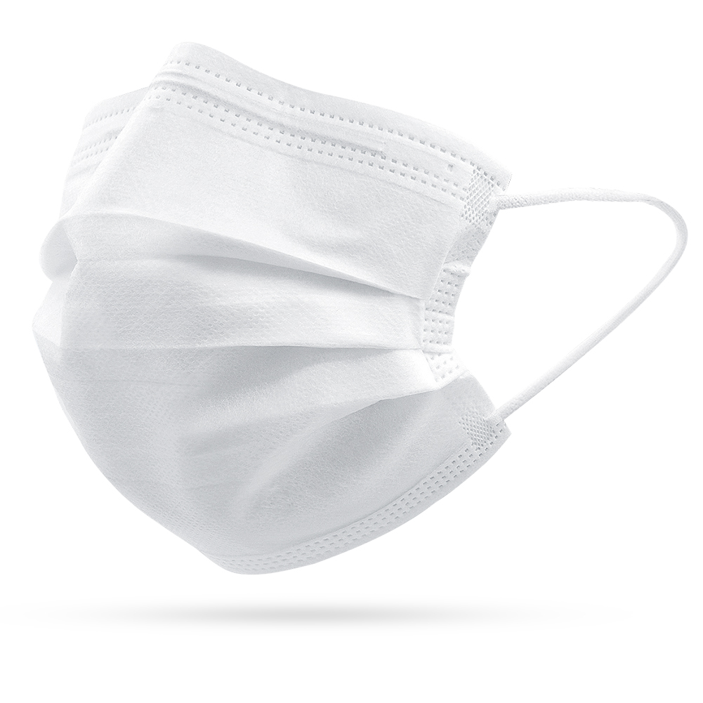 10/50pcs Disposable Masks Non Woven Anti-dust 3 Layers Breathable Earloops Face Mouth Cover