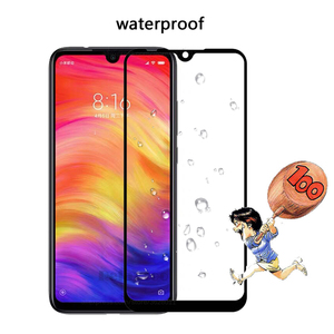 Image 3 - glass For Xiaomi redmi note 7 Full Tempered Glass screen protector For Xiaomi xiomi Redmi note7 protective Film Front touch glas