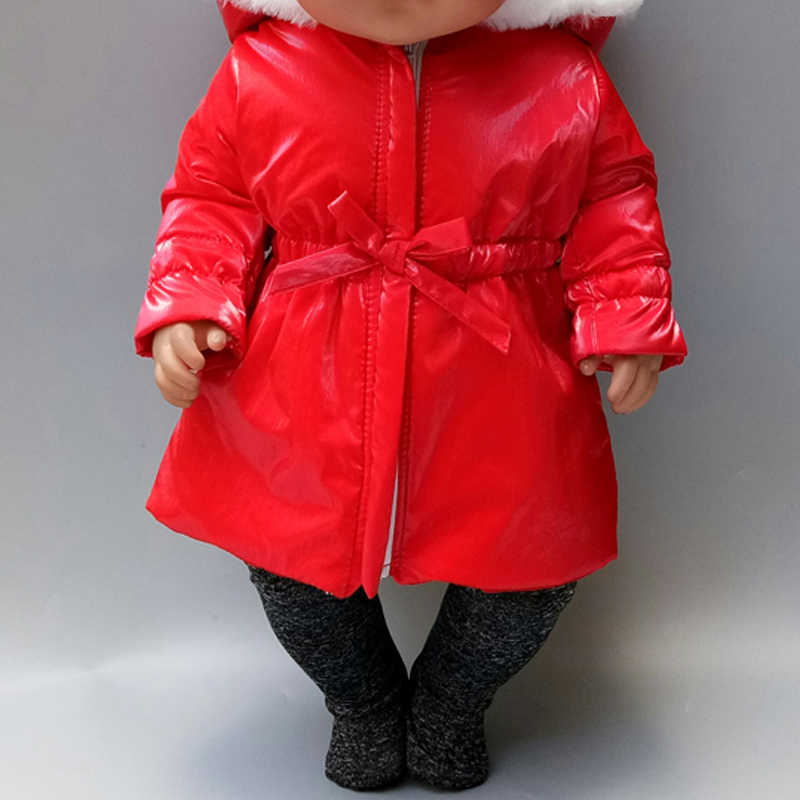 43cm noworodki laleczka bobas odzież chroniąca przed słońcem dla laleczka bobas ubrania 18 Cal amerykański OG dziewczyna lalka kurtka
