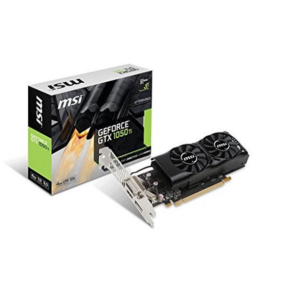 Carte graphique MSI VGA NVIDIA GTX 1050 Ti 4GT LP 4 GB GDDR5