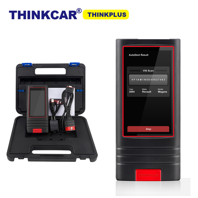 "Thinkcar Thinkplus אינטליגנטי רכב Vehicel אבחון אוטומטי נטען מקצועי קלה דו""ח אוטומטי מלא מערכת לבדוק"