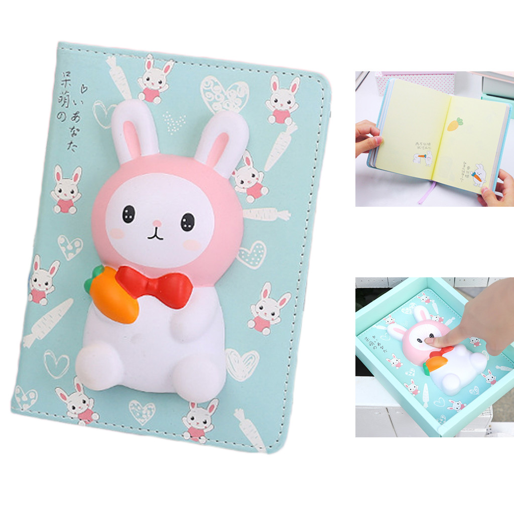 Vent Slow Rebound Decompression Book Multifunction Creative Cartoon Vent Slow Rebounds Stress Reliever Book Toy L0117