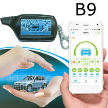 Car-Alarm Mobile-Phone-Control Anti-Theft-Device B9 Two-Way GPS GSM LH-001 Upgrade