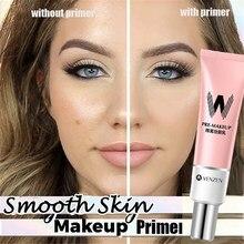 W airfit primer facial para pele, maquiagem para pele suave poros invisíveis corretivo