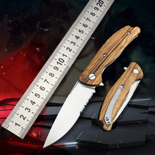 D2 Steel knives knife  hunting pocket fold butterfly tactical knife stiletto utility  military survival knife camping outdoor недорого
