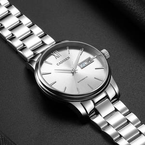 Image 2 - CADISEN גברים שעון אוטומטי מכאני ספיר יוקרה מותג 50ATM עמיד למים שעון זכר Reloj Hombre Relogio Masculino