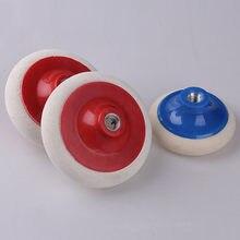 Tampon de Polissage de roue en laine M14, pour accessoires automobiles Pulidora, pour Gadgets de Polissage