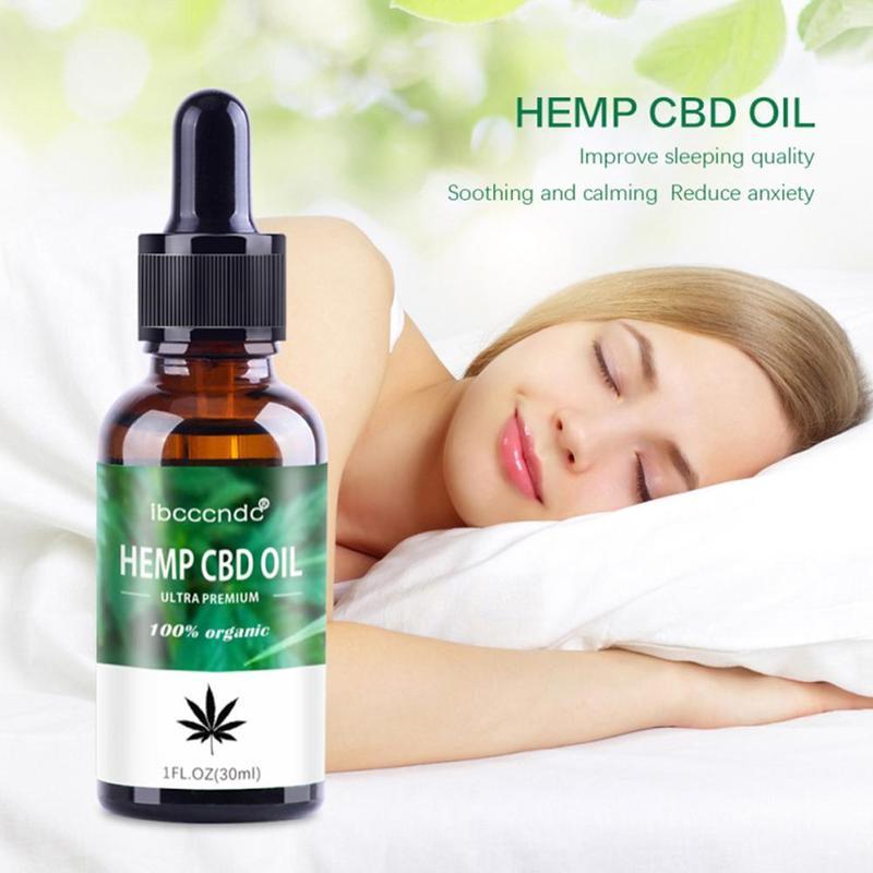 5/30ml Organic Hemp CBD Essential Oil Bio-active Hemp Seed Oil Drops 2000mg Herbal Body Relieve Stress Oil Skin Care Help Sleep 5