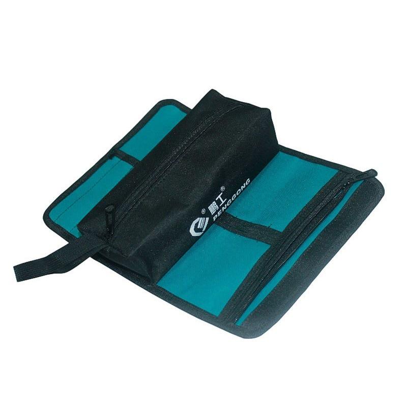 HLZS-PENGGONG Storage Tools Bag Reels Utility Bag Multifunction Oxford Canvas Electrical Package Waterproof With Carrying Handle