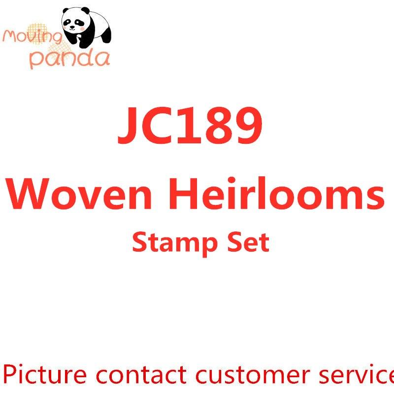 JC189 Woven Heirlooms Stamps Set DIY Scrapbooking Card Making Craft Embossing Stencils
