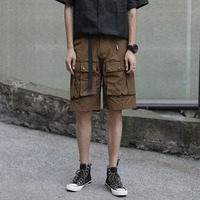 Men's loose trend five pants trousers casual wild shorts summer
