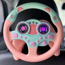 Детская развивающая музыкальная игрушка имитация рулевого колеса