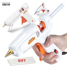 TAITU DIY Mini Guns Hot Melt Glue Guns Adhesive Stick Silicone Guns Thermo Gluegun Industrial Electric Repair Heat Tools