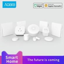 Aqara Wall switch with neutral Zigbee version for mijia Smart home Human Body Sensor work with Aqara Hub gateway 3