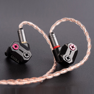 Image 3 - AK SHUOER TAPE 10MM High Performance Nanotechnology Low Voltage Electrostatic Driver in Ear Earphone With Detachable MMCX Cable