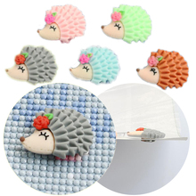 New Diamond Painting Tools Magnet Cute hedgehog Cover Parchment Paper Cover Holder Diamond Accessories Fridge Magnet