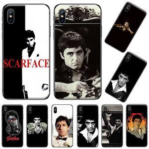 EWAU Scarface Tony Montana Phone Case for iPhone 11 12 pro XS MAX 8 7 6 6S Plus X 5S SE 2020 XR