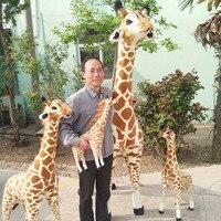 Big Giraffe Plush Toy Pop Soft Stuffed Giant Emulational Animal Giraffe Kid Doll Cute Plush Plush Toys Plush/Nano Doll Unisex