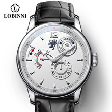 Switzerland Luxury Brand Men's Watch Leather Multifunctional Male Sport Watches Automatic Self-Wind Business relojes hombre weide brand leather sport quartz watches men water resistant mehanical hand wind analog automatic self wind luxury clock saat