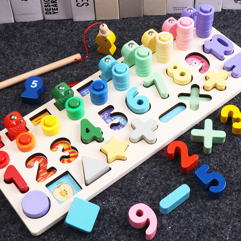 precoce ensino brinquedo matemático
