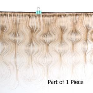 Image 2 - Bobbi Sammlung 2/3/4 Bundles Farbe 27 Honig Blonde Indische Körper Welle Haarwebart Pre Farbige nicht Remy Menschliches Haar Schuss 16 24 zoll