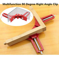 Multifunction 90 Degree Right Angle Clip Picture Frame Corner Clamp Fishtank DIY Corner Holder Quick Fixed Woodworking Tool