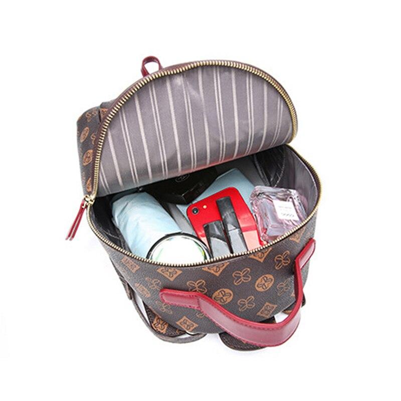 Image 2 - MAHEU Fashion Backpack Luxury Brand Designer Female Backpack  Ladies Girsl Travel Bag Daypack Of Woman Mini BackpackBackpacks   -