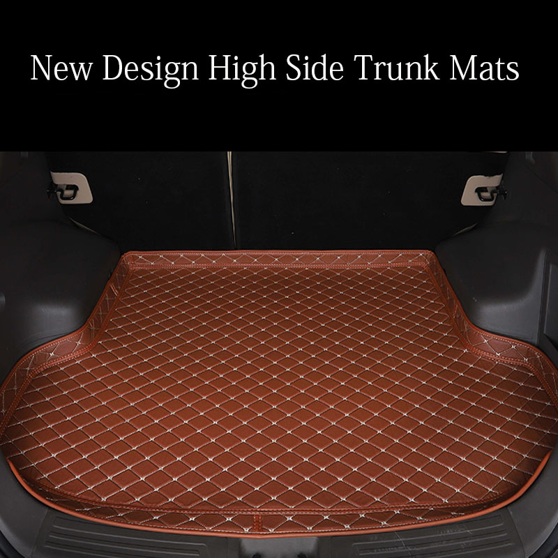 Custom made car trunk mats for <font><b>Lexus</b></font> NT200 NX200T NX300H <font><b>F</b></font> <font><b>Sport</b></font> ES 200 250 <font><b>350</b></font> IS <font><b>GS</b></font> GX470 LX570 RX RX LS <font><b>350</b></font> 6D carpet rugs image