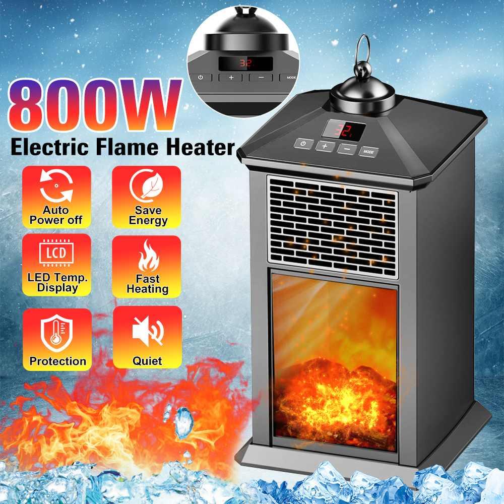 220V 800W Portable Electric Fan Desktop Household Handy Heating Stove Radiator Warmer Machine For Winter