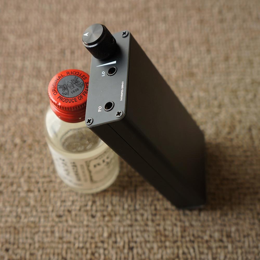 Zishan U1 Hi-Fi Портативный Тип-C USB DAC AMP 43198 чип декодера Amanero XMOS + 4200 мАч быстрой зарядки Мощность банка для ПК/Android