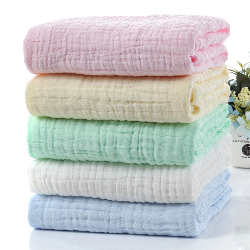 Baby Muslin Squares Diaper Muslin Swaddle Bamboo Baby Blanket Newborn Baby Swaddle Wrap Baby Blankets Newborn Cotton Manta Bebe