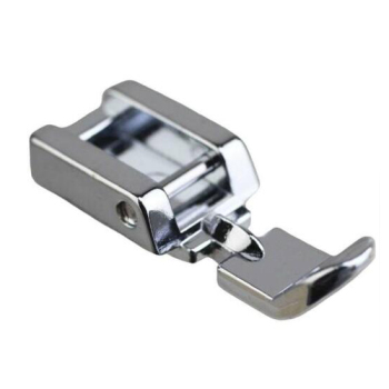 Domestic sewing machine parts presser foot 7306-2 (5011-3N) / Zipper Foot narrow zipper foot image