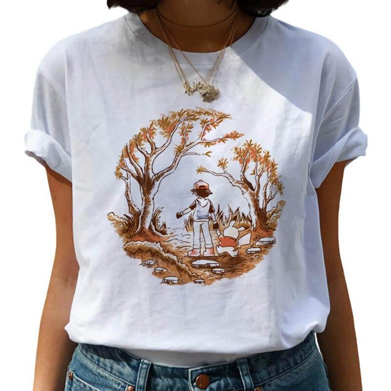 New Harajuku Kawaii T Shirt Women Ullzang Funny Cartoon T-shirt 90s Cute Tshirt Korean Style Top Tees Female 2