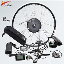 Комплект для переоборудования электрического велосипеда 36 В Комплект Bicicleta Electronica Con Bateria Ebike Kit Bici Electronica Электрический велосипед бесщеточный