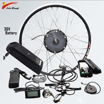 Kit de conversión de Bicicleta eléctrica, 36V, sin escobillas