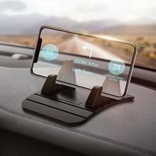 Robotsky Car Dashboard Non-slip Mat Silicone Mount Phone Holder