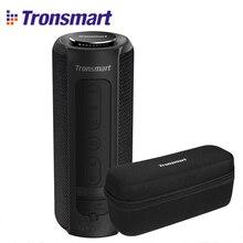 Tronsmart T6 Plus Bluetooth динамик глубокий бас 40 Вт TWS портативный динамик IPX6 Водонепроницаемый внешний аккумулятор функция SoundPulse Саундбар