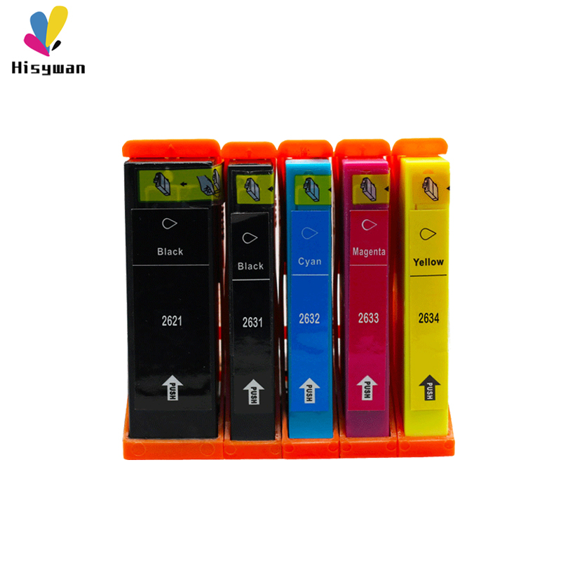 Hisywan T2621 T2631 26XL New Comaptible Ink Cartridge For <font><b>Epson</b></font> 2621 2631 Expression Premium <font><b>XP</b></font>-600/605/<font><b>610</b></font>/700/710/800 Printer image