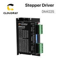 Cloudray 2-Phase Stepper Motor Driver DM422S Supply Voltage 18-48VDC Output 0.3-2.2A Current