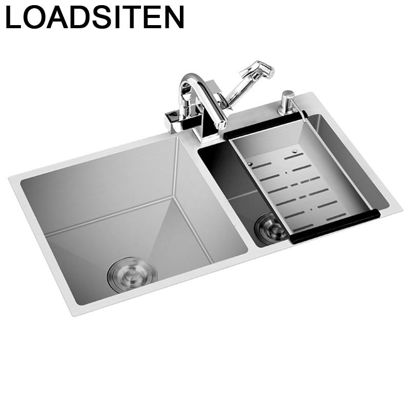 Cucina Lavandino Inox Gootsteen Tarjas Para Dissipador Evier Kitchen Pia Cozinha Lavabo Fregadero De Cocina Dishwash Sink