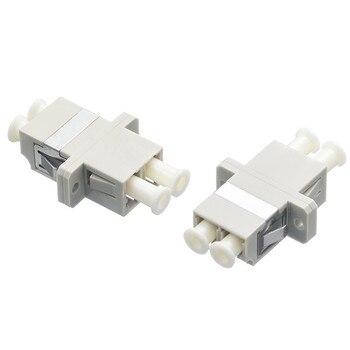 цена на LC Multimode Duplex Fiber Optic Adapter LC MM Adapter LC Fiber Optic Flange