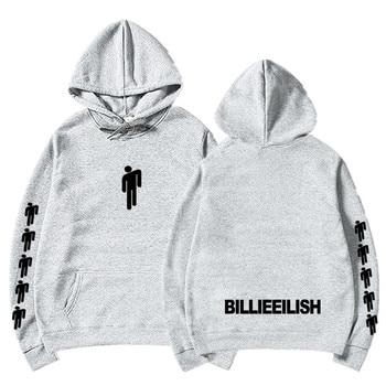 Billie Eilish Hang Neon Hoodie Women Men Long Sleeve Don't Smile At Me Sweatshirt Green Eilish Merch Clothing Trendy Hoody 6