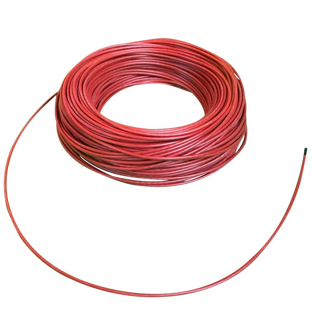100 м инфракрасный многоцелевой изолированный 12 к красный нагревательный кабель Пол теплый фермы прочный углеродного волокна теплицы
