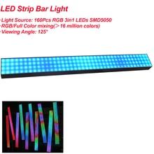 1Pack 100CM LED Strip Light 160Pcs SMD5050 RGB Full Color LED Strip Bar Lights 25MM Pixel Pitch For Holiday Indoor Decoration майка print bar pixel color