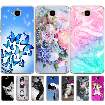 case for Huawei Honor 4C Pro Case Honor 4C Pro Cover Soft Silicon Back Case for Huawei Y6 Pro 2015 Case TIT-L01 TIT-TL00 Phone mooncase окна в дизайн так же премиум пу кожаный чехол для покрытия huawei honor 4c