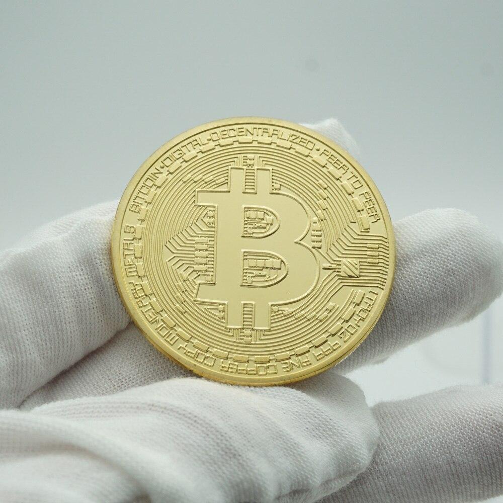 Ripple Bitcoin silver litecoin Coin Collectible Gift Casascius Bit Coin BTC Coin Art Collection Physical Commemorative Coin-3