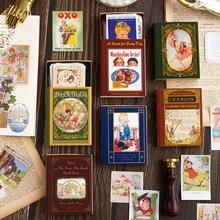 Journamm 60 Teile/schachtel Märchen Aufkleber Scrapbooking Original Washi Papier Kinder Kreative Kugel Album Journal Schreibwaren Aufkleber