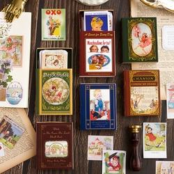 Journamm 60Pcs/box Fairy Tale Sticker Scrapbooking Original Washi Paper Kids Creative Bullet Album Journal Stationery Stickers